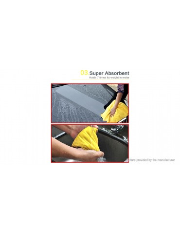 Super Water Absorbant Microfiber Car Washing Cleaning Cloth (92*56cm)