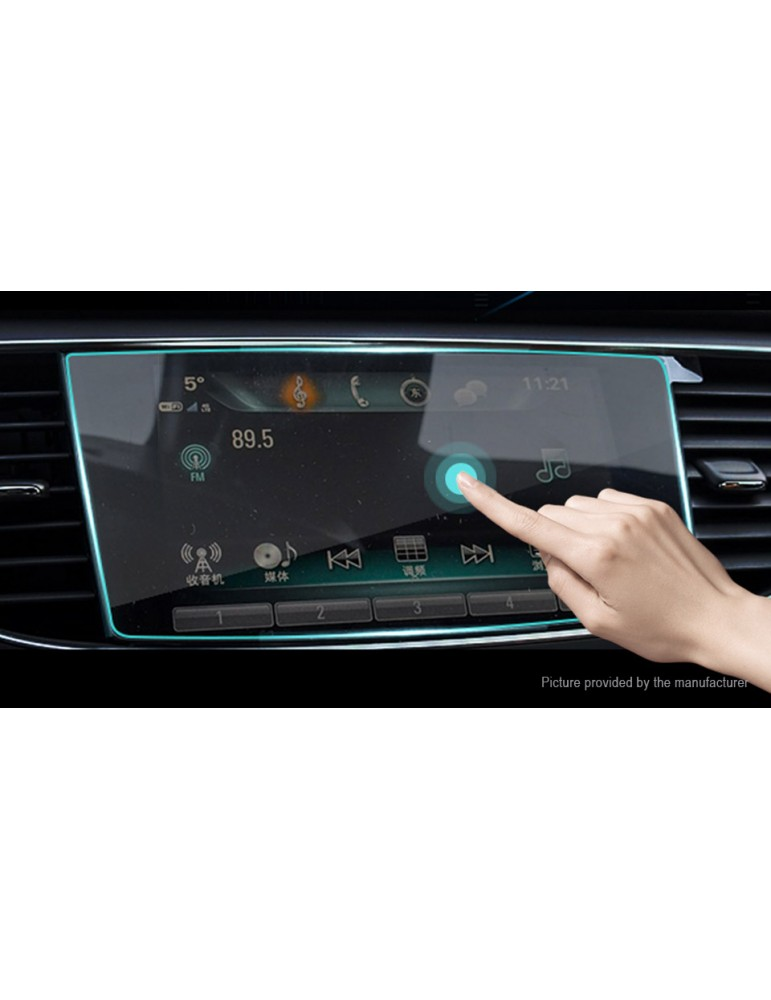 Car Center Control Touch Screen Tempered Glass Screen Protector for Audi Q5L