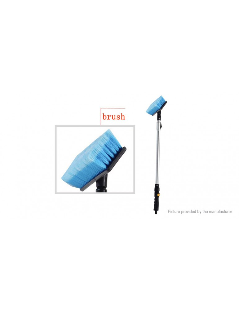 Adjustable Long Rod Car Water Wash Brush Cleaning Tool