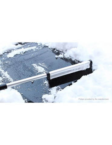 Car Vehicle Telescopic Ice Scraper Snow Brush Window Removal Clean Tool