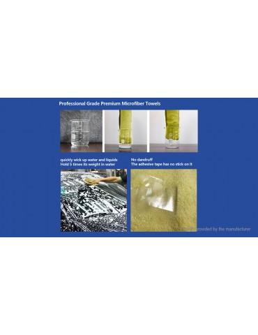 Microfiber Car Washing Cleaning Cloth Towel (42*37cm)