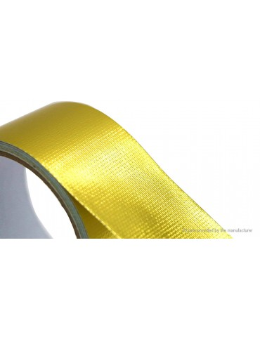 Adhesive Backed Heat Barrier Tape Heat Shield Wrap Roll (5m*50mm)