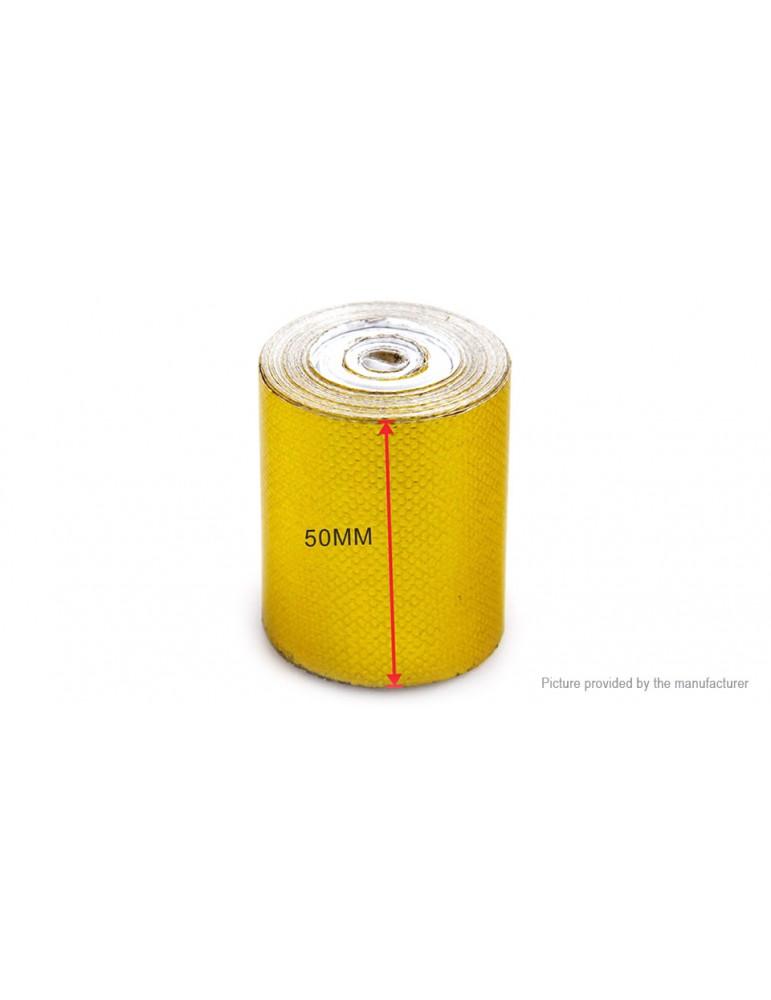 Adhesive Backed Heat Barrier Tape Heat Shield Wrap Roll (5m*50mm)