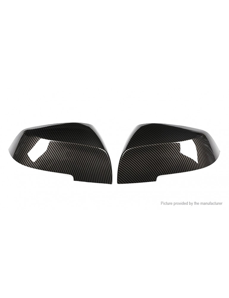 ABS Car Rearview Mirror Shell Case for BMW (2-Pack)