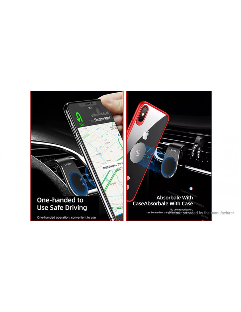 Authentic USAMS Car Air Vent Mount Magnetic Cell Phone Holder