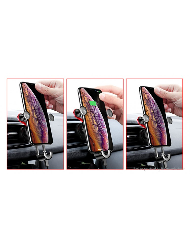 Authentic Baseus Car Air Vent Mount Gravity Linkage Cell Phone Holder Stand