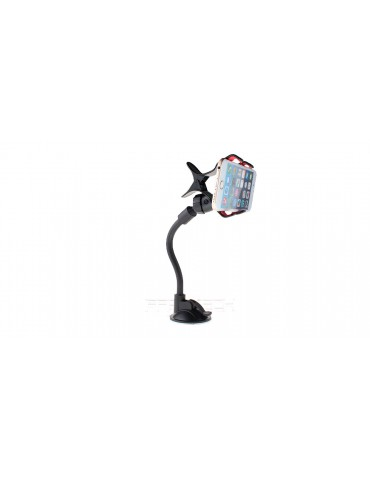 S022 Soft Tube Car Suction Cup Mount Holder Stand