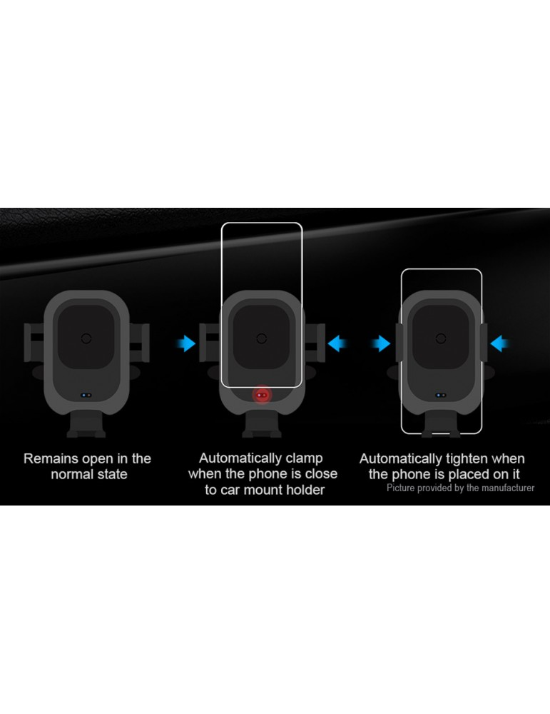 Authentic Baseus Car Air Vent Mount Qi Inductive Wireless Charger Holder