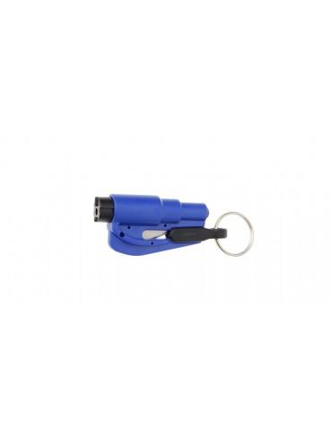 Portable Glass Breaker & Seatbelt Cutter Car Escape Rescue Tool w/ Keyring