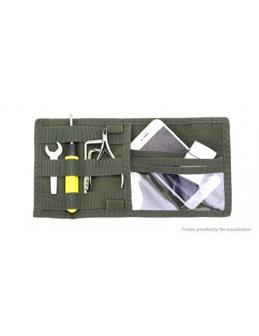 Multifunctional Car Sun Visor Hanging Organizer Credit Card Sunglasses Storage Bag