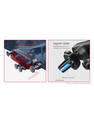 Essager JQR Car Air Vent Mount Gravity Linkage Cell Phone Holder Stand