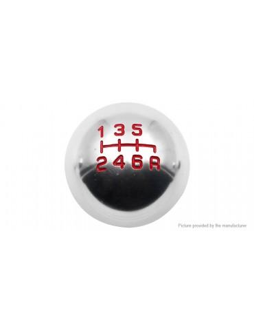 Universal Round Ball Shaped Aluminum Alloy 6 Speed Car Gear Shift Knob