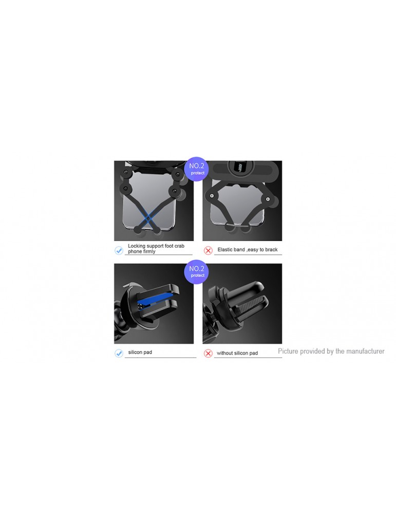 Car Air Vent Mount Gravity Linkage Phone Holder