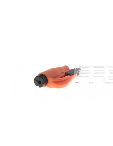 Vehicle-Used Mini Safety Hammer w/ Keyring