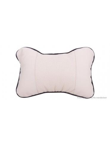 PU Leather Car Seat Headrest Neck Rest Cushion Pillow
