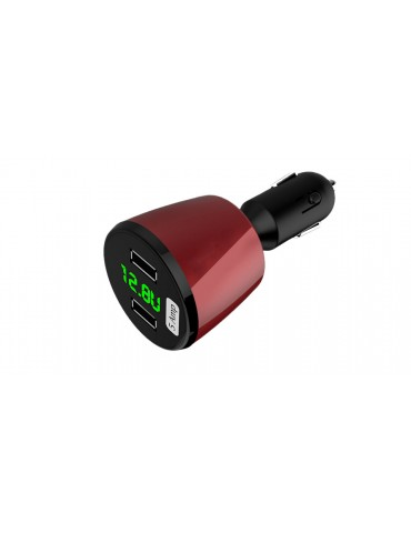 4-in-1 Multi-functional USB Car Cigarette Lighter Charger