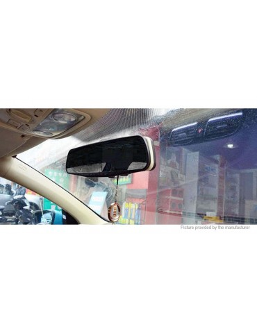 "2.7"" LCD 1080p Rear View Mirror Car DVR Camcorder"