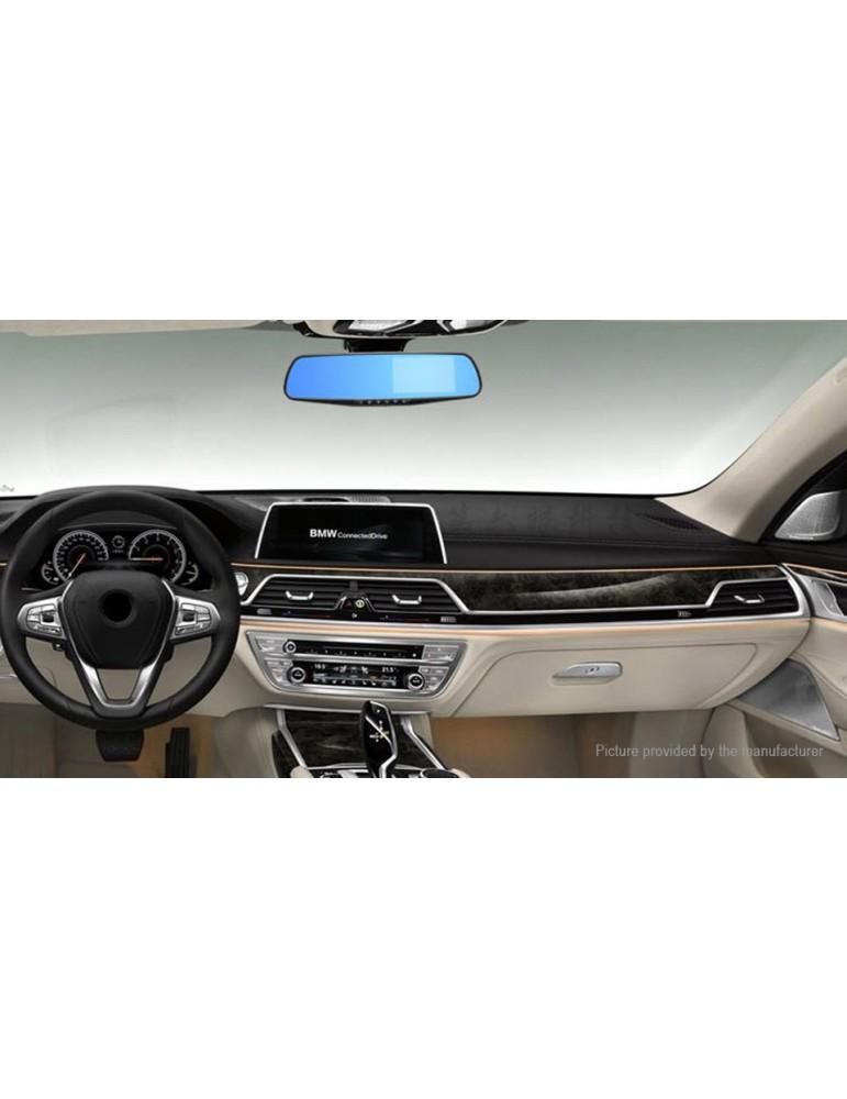 "4.3"" TFT 1080p FHD Rearview Mirror Car DVR Camcorder"