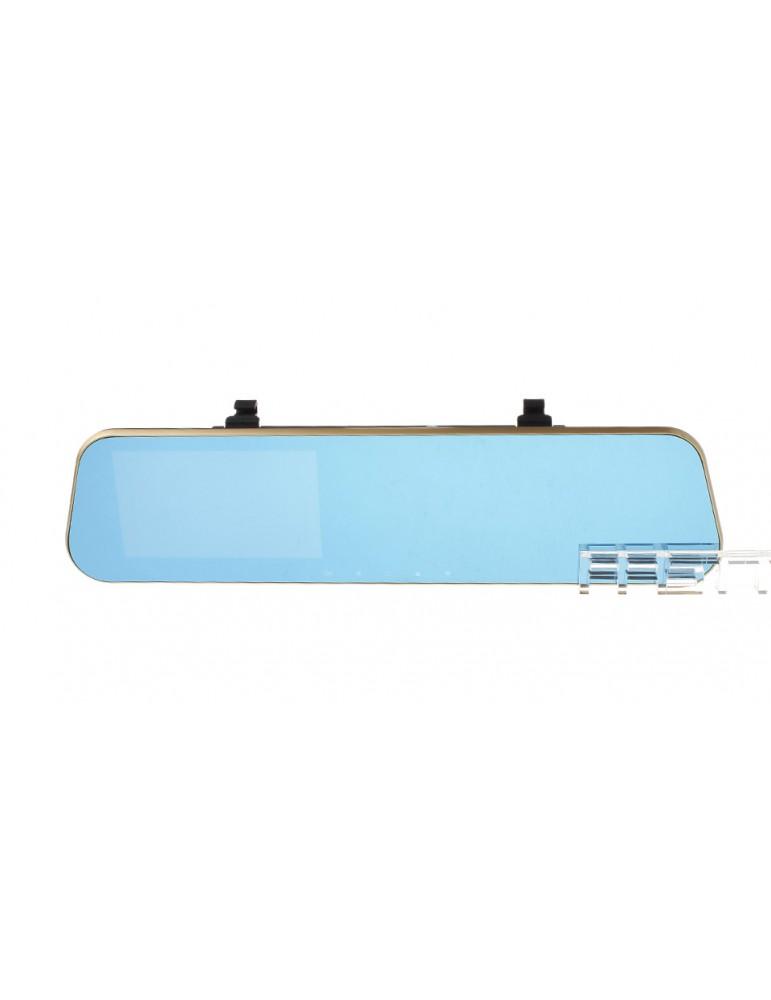 "4.3"" LCD 1080p Full HD Rear View Mirror Car DVR Camcorder"