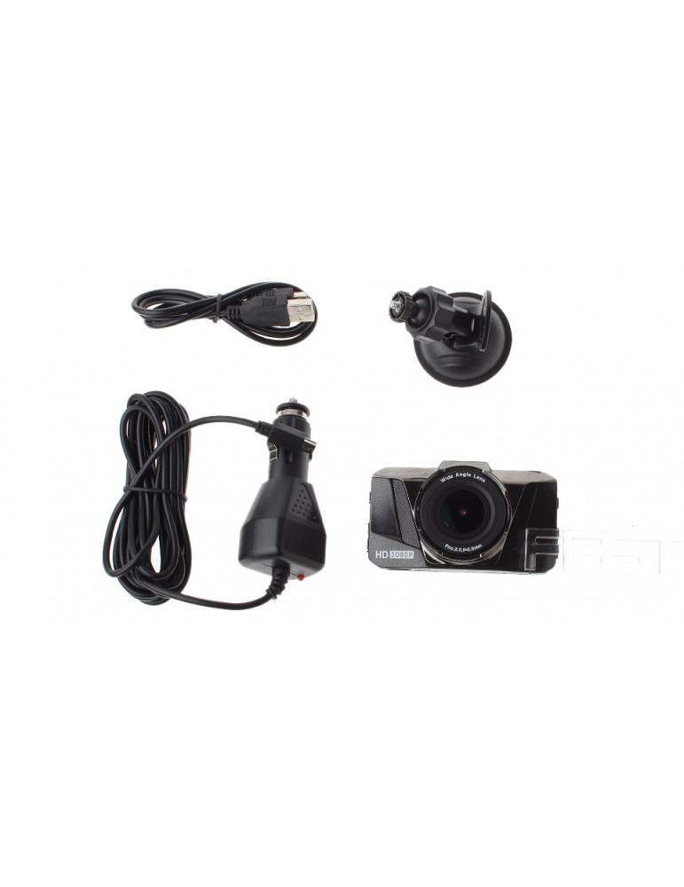 "3"" TFT 1080p Full HD Car DVR Camcorder"