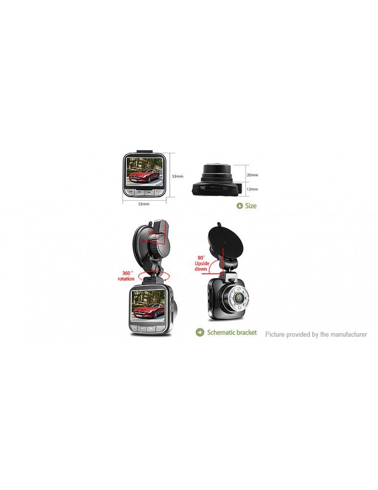 "G55 2.0"" 1080p Full HD Car DVR Camcorder"