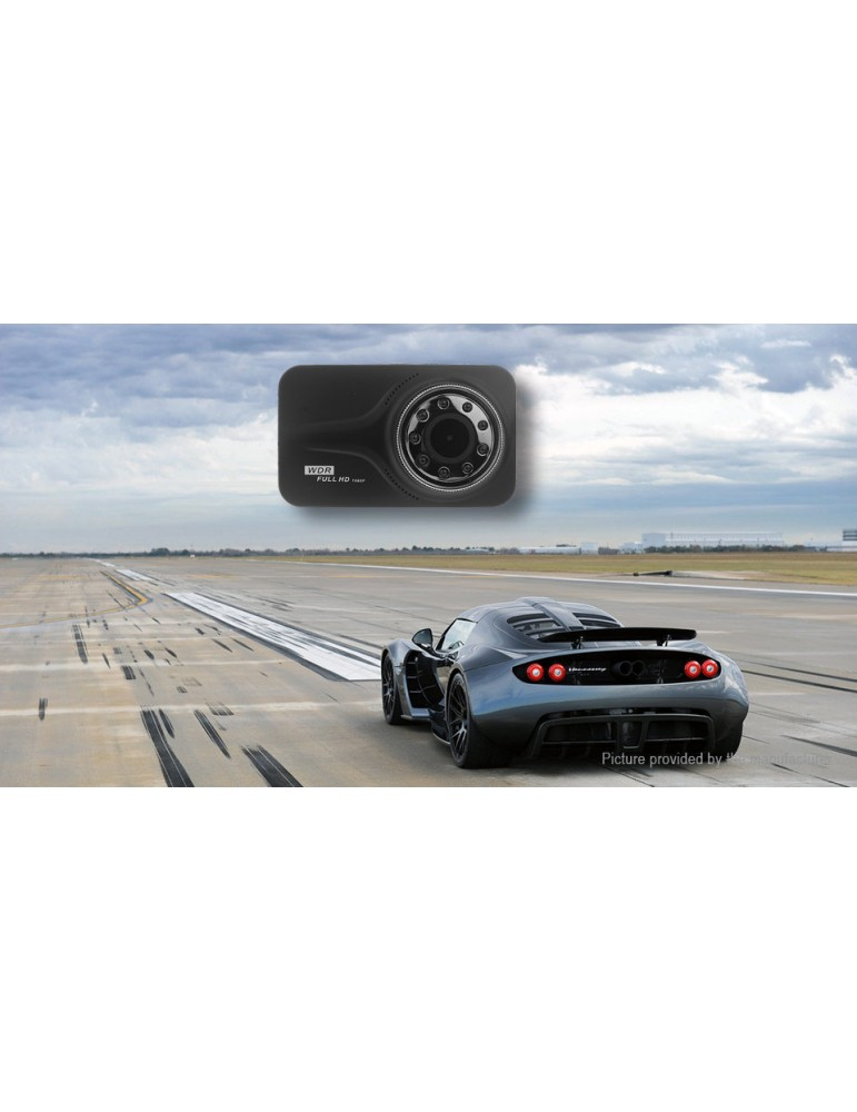 SK-606 Full HD 1080p Car DVR Camcorder (8GB microSD)