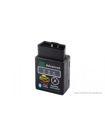 HH OBD ELM327 OBDII Scanner Bluetooth OBD2 CAN BUS Check Engine Diagnostic Tool