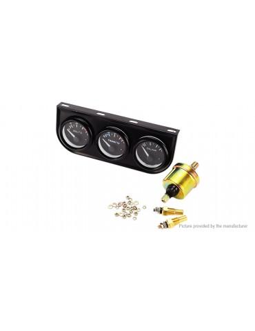 3-in-1 Car Water Temp Oil Temp Oil Pressure Gauge Sensor
