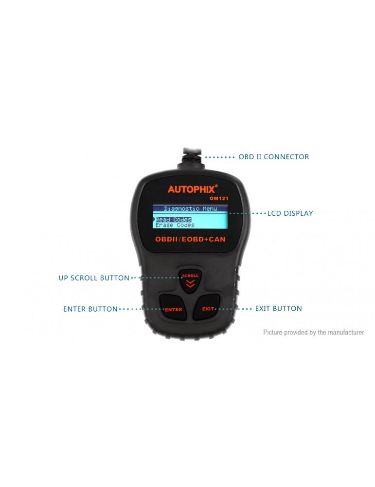 AUTOPHIX OM121 OBD2/EOBD+CAN Car Code Reader Diagnostic Tool