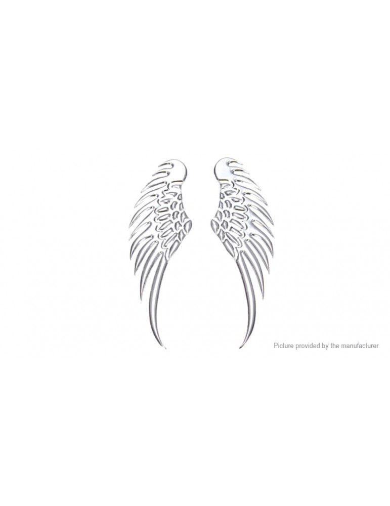 3D Eagle Wings Styled Auto Car Emblem Decal Sticker (Pair)