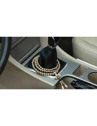 Brass Ball Bead Pendant Car Ornament
