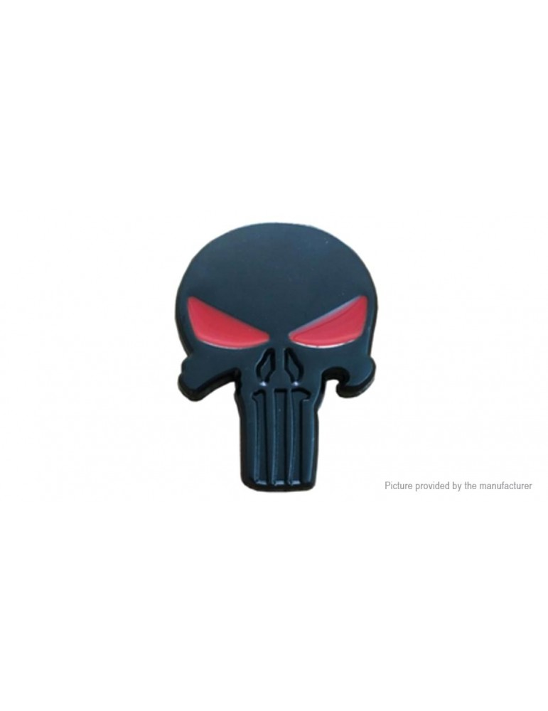 3D Skull Styled Auto Car Emblem Decal Sticker
