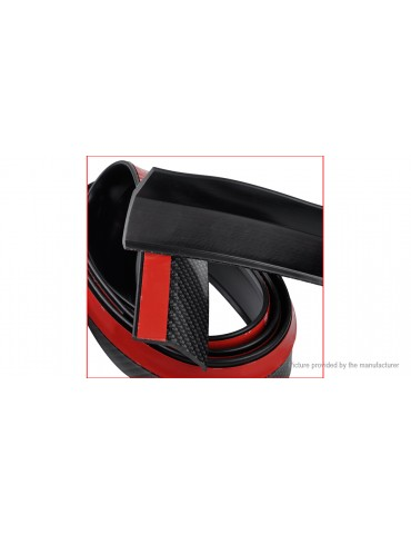 Car Front Rear Bumper Protector Corner Guard Lip Spoiler Strip (2.5m)