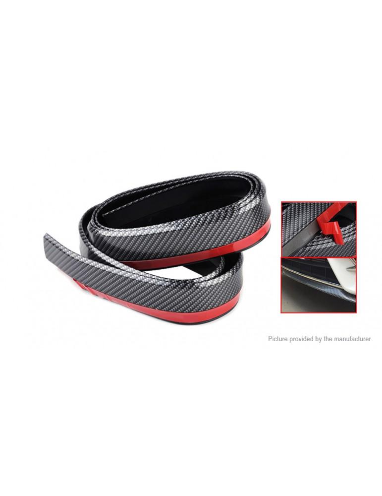 Car Front Rear Bumper Protector Corner Guard Lip Spoiler Strip (2.5m)