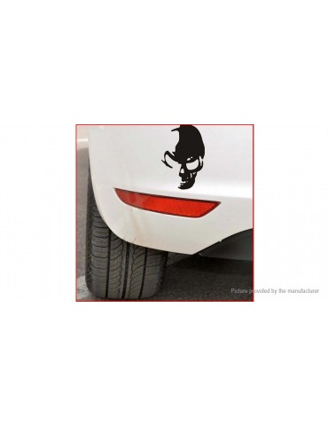 Skull Ghost Styled Reflective Car Sticker Decal Decoration (2-Pack)
