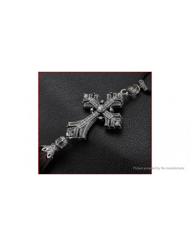 Cross Jesus Christian Styled Car Rearview Mirror Pendant Hanging Ornaments Decor