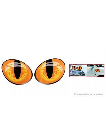 Cat Eye Styled Car Decoration Decal Sticker