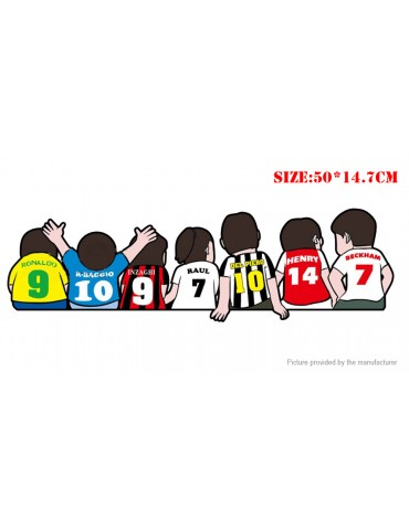 European Cup Football Sports Self-adhesive Cartoon Car Sticker (50*14.7cm)