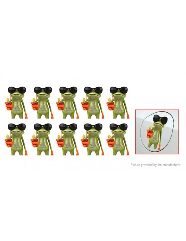 Frog Styled Car Decoration Decal Sticker (10-Pack)