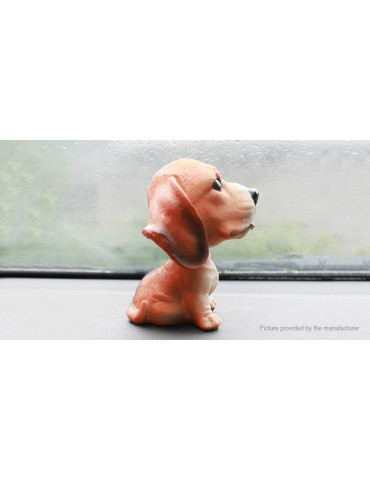 Dog Figure Shaking Head Toy Car Home Decoration Ornament