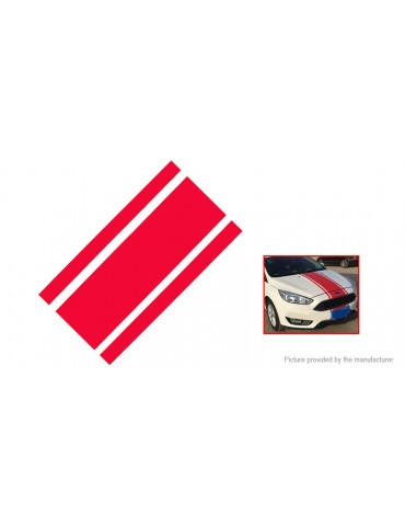 Stripe Pinstripe Racing Car Hood Roof Decal Sticker (120cm)
